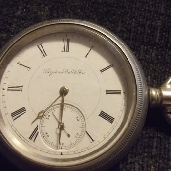 Keystone pocket watch.