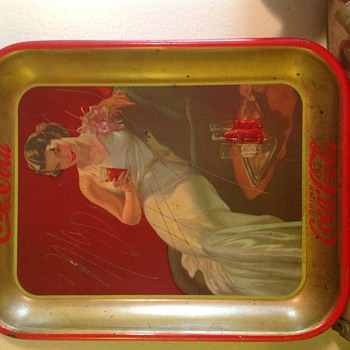 Coca Cola Tray - Signed - Coca-Cola