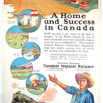 A Home and Success in Canada & Missouri Pacific Railway - Posters and Prints