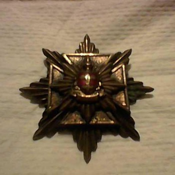 A BRITISH STARBURST MEDAL