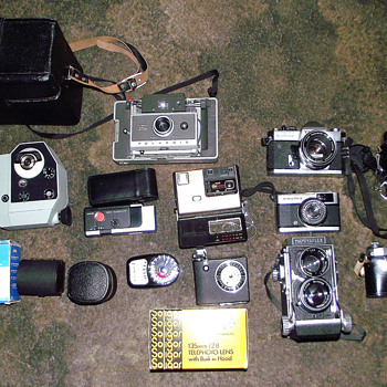 1950s/1960s-camera collection-collected over 40 years. - Cameras