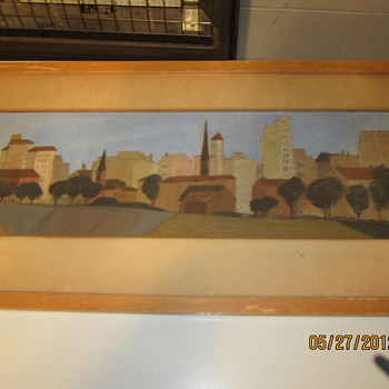 Old water color painting help. - Folk Art