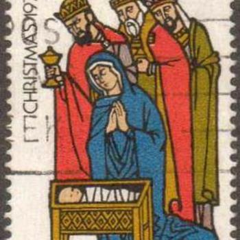 "1975 - Australia ""Christmas"" Postage Stamp"