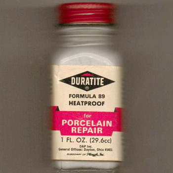 1960's - Duratite Porcelain Repair Paint - Advertising