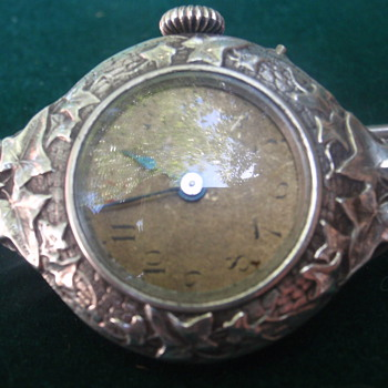 Art Nouveau wrist watch