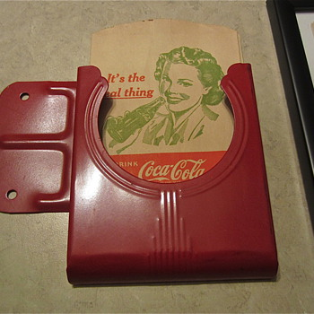 Coca Cola Dry Server holder