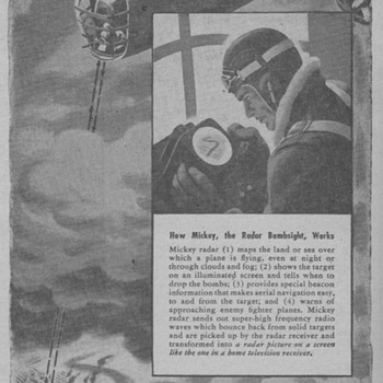 1945 - Philco Radar Bombsight Advertisement - Advertising