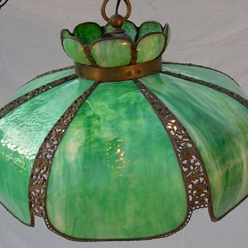 My Favorite Green Hanging Lamp