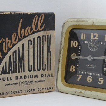 The Fireball Alarm by E. Ingraham Co. - Clocks