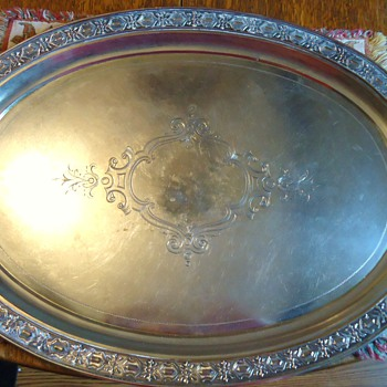 Coin Silver Tray   From? - Sterling Silver