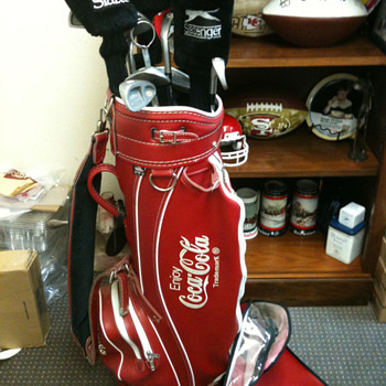 COCA COLA GOLF BAG  - Coca-Cola