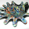 Fratelli Toso Art Glass unusual shape and decor