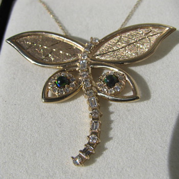 My Darlin&#039;s Fine Jewelry ---   Dragonfly