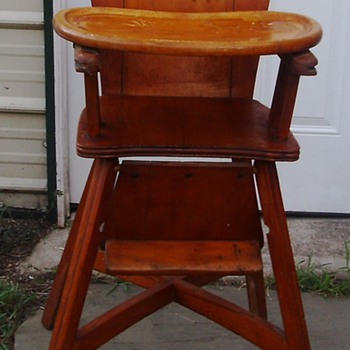 1940's High Chair - Furniture