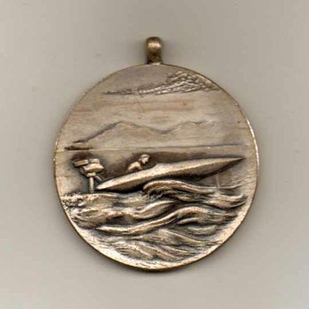 1950-51 - Far East Outboard Club Pendant - Japan - Sporting Goods