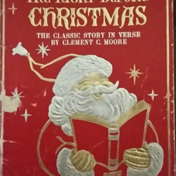 My Twas the Night Before Christmas Book - Christmas