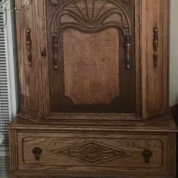 2 pc cupboard over drawer - Furniture
