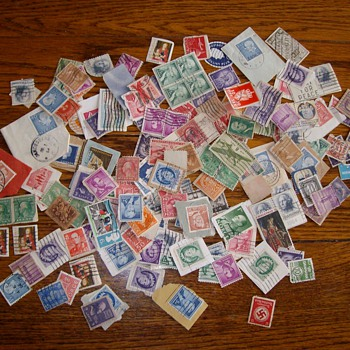 A Sampling Of U.S. Postage Stamps From the 1930's - Late 1940's