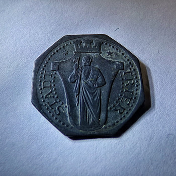 Stadt Trier Coin circa WW1???? - World Coins