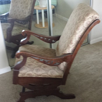 my great great great grandma's rocker