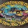Penza Pottery Platter from Zimbabwe - 2004