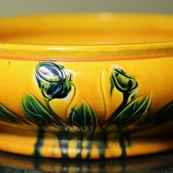 Awaji Bowl - Art Pottery