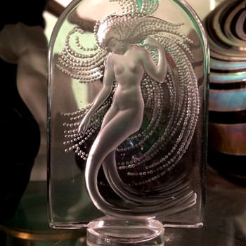Lalique Naiade - Art Glass