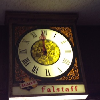 Falstaff clock