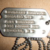 504th Parachute Infantry Regiment (PIR) dogtags and photograph
