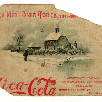 1891 Trade Card - Coca-Cola
