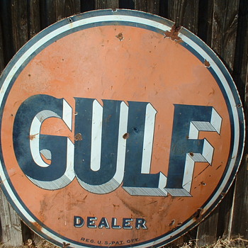 Gulf Dealer Sign - Signs