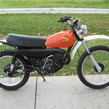 1976 Honda Elsinore MR175 - Motorcycles