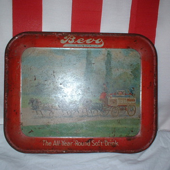 Budweiser Bevo Tray