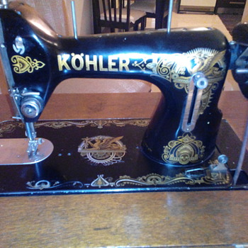 Kohler sewing machine