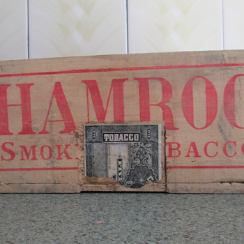 wood tobacco box