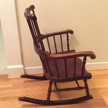 Rocking chair from a convent  - Furniture