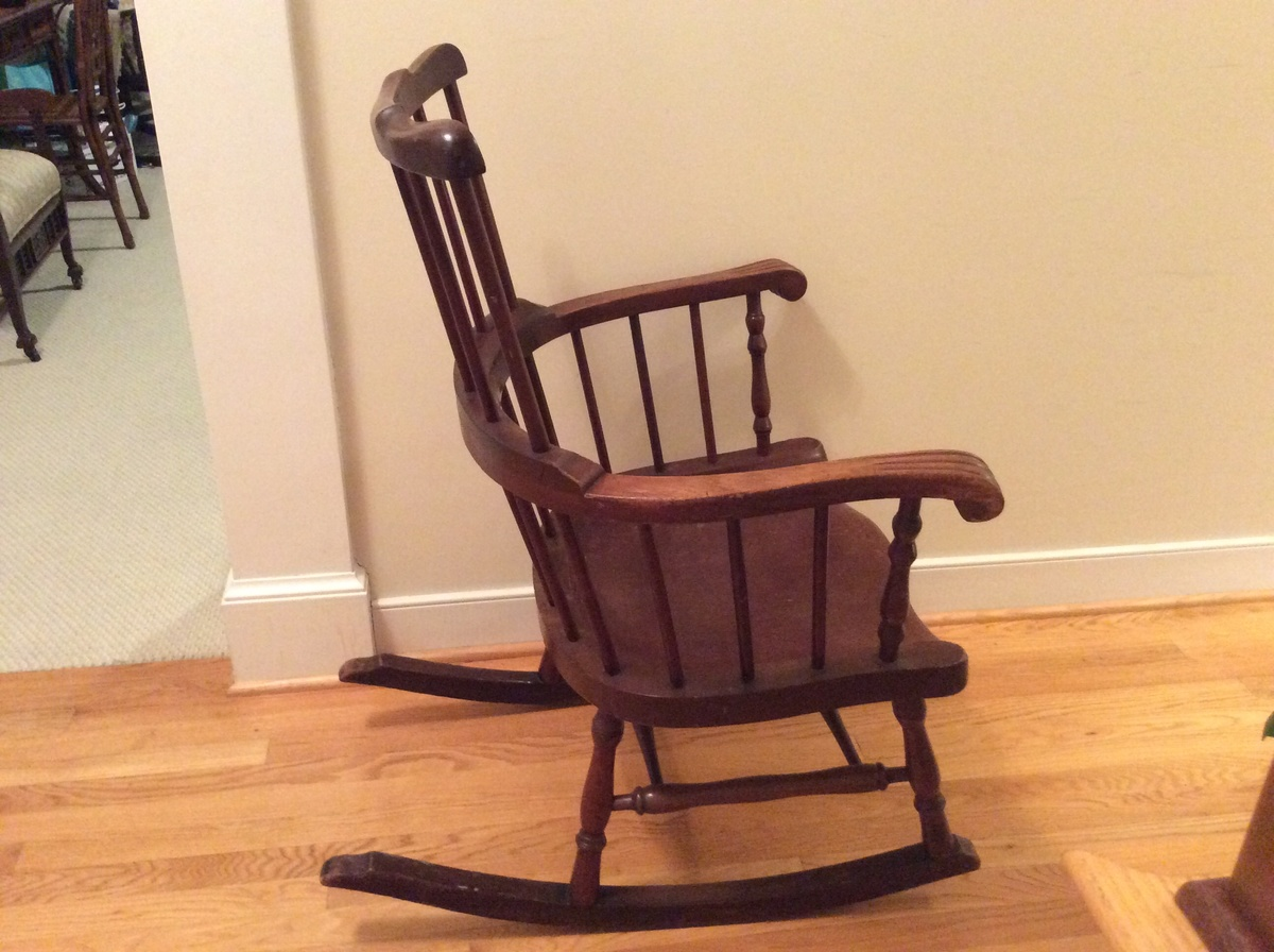 Very Impressive portraiture of rocking chair from a convent in furniture rocking chairs show tell  with #A26B29 color and 1200x896 pixels