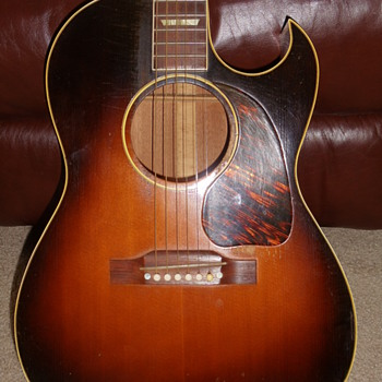 My Vintage 1951 Gibson CF100 - Guitars
