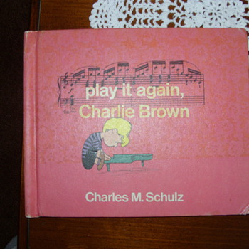 1971 1 st print play it again charlie brown