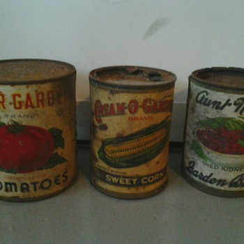 3 More Original Cans & Labels