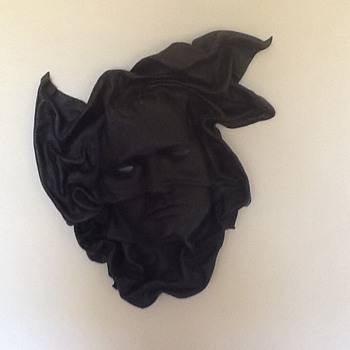 Leather Mask Wall Hanging - Accessories