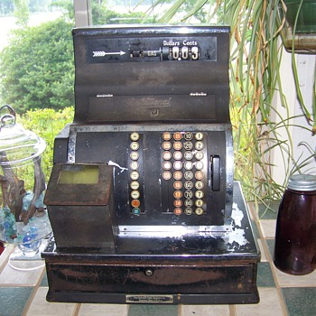 1940 NCR Cash register - Coin Operated