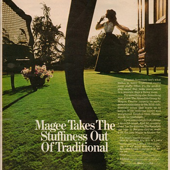 1968 - Magee Carpet Advertisement