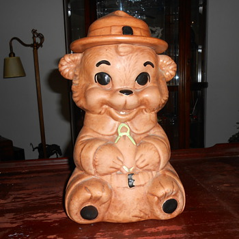 bear cookie jar - Kitchen