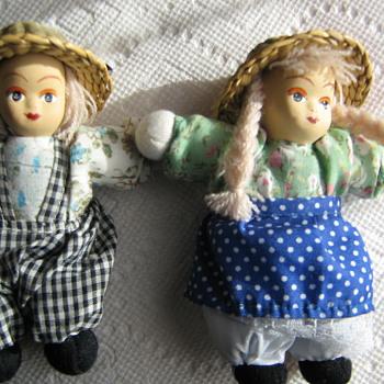 """4"""" farmer dolls"""