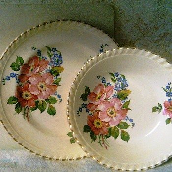 fruit dish and bread plate - China and Dinnerware