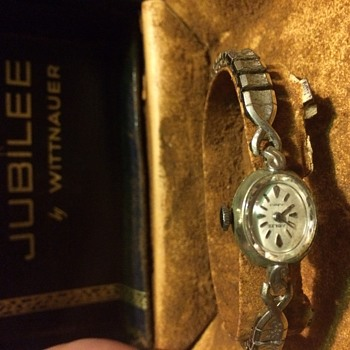 Jubilee 17 jewel by wittnauer wrist watch