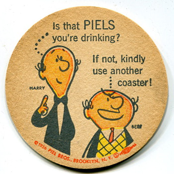 Vintage Beer Coasters - Breweriana