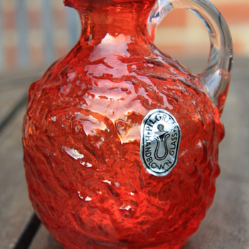 American Pilgrim Glass Vase - Art Glass