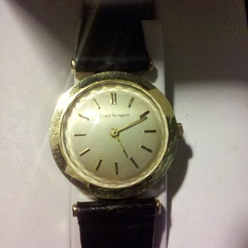 Need Help on model and year of this gold watch - Wristwatches